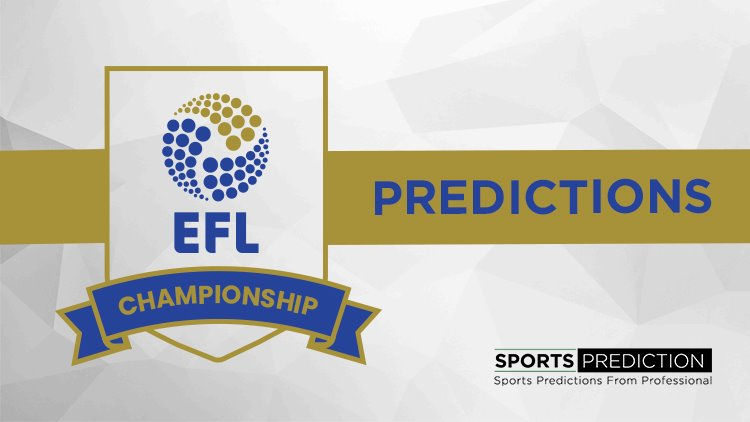 Soccer Prediction | 2019-2020 EFL Championship Predictions