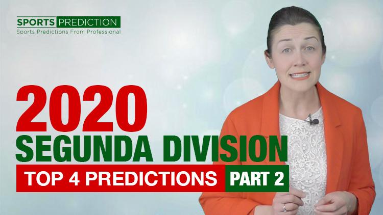 Soccer Prediction | 2020 Segunda Division Top 4 Predictions - Part 2