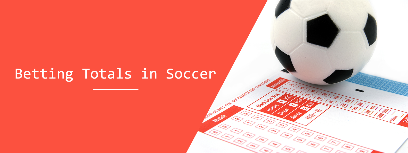 Total Goals In Soccer Betting