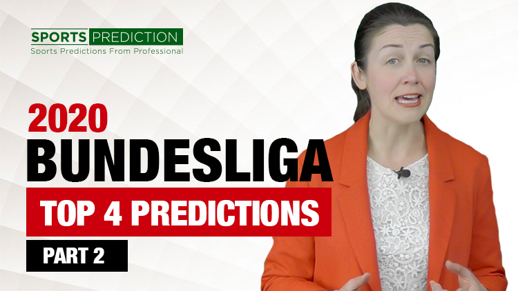 Soccer Prediction | Bundesliga 2020 Top 4 Predictions - Part 2