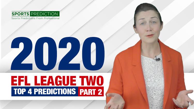 Soccer Prediction | 2020 EFL League Two Top 4 Predictions - Part 2
