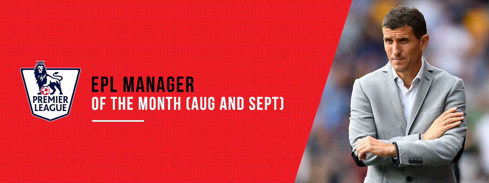 Premier League Manager Of The Month (August and September 2018)