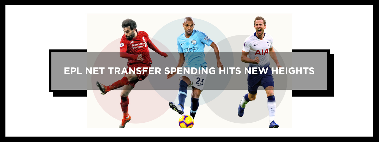 English Premier League Net Transfer Hits New Heights