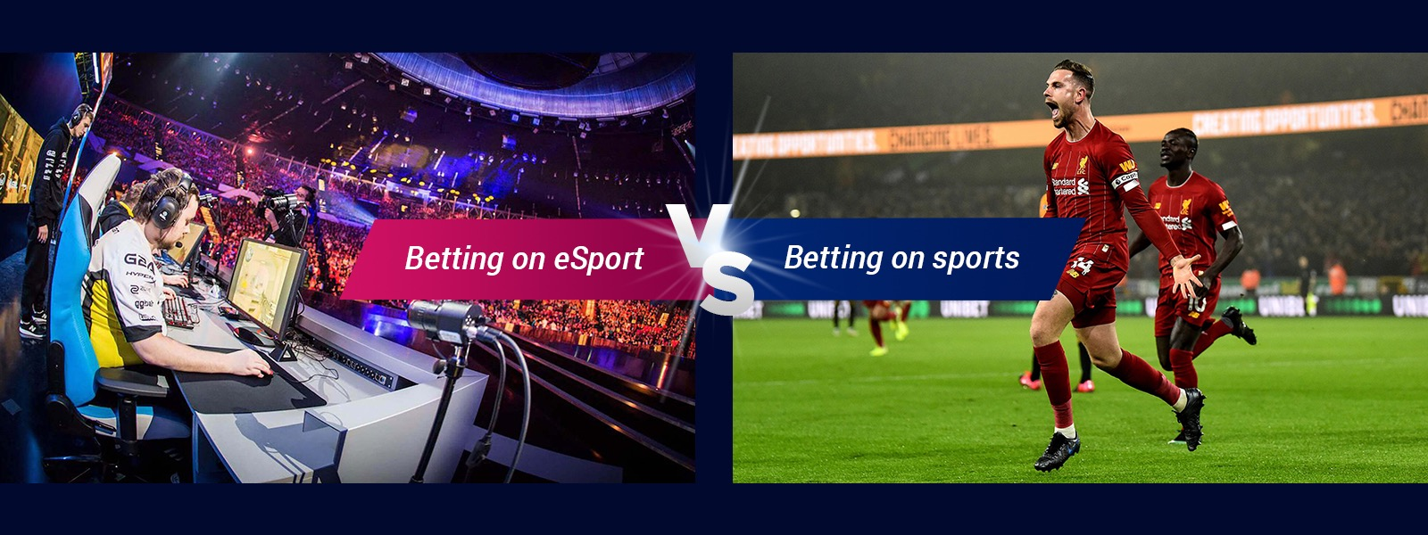 Betting on eSports vs Betting On Sports
