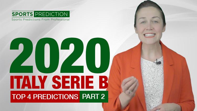 Soccer Prediction | 2020 Italy Serie B Top 4 Predictions Part 2