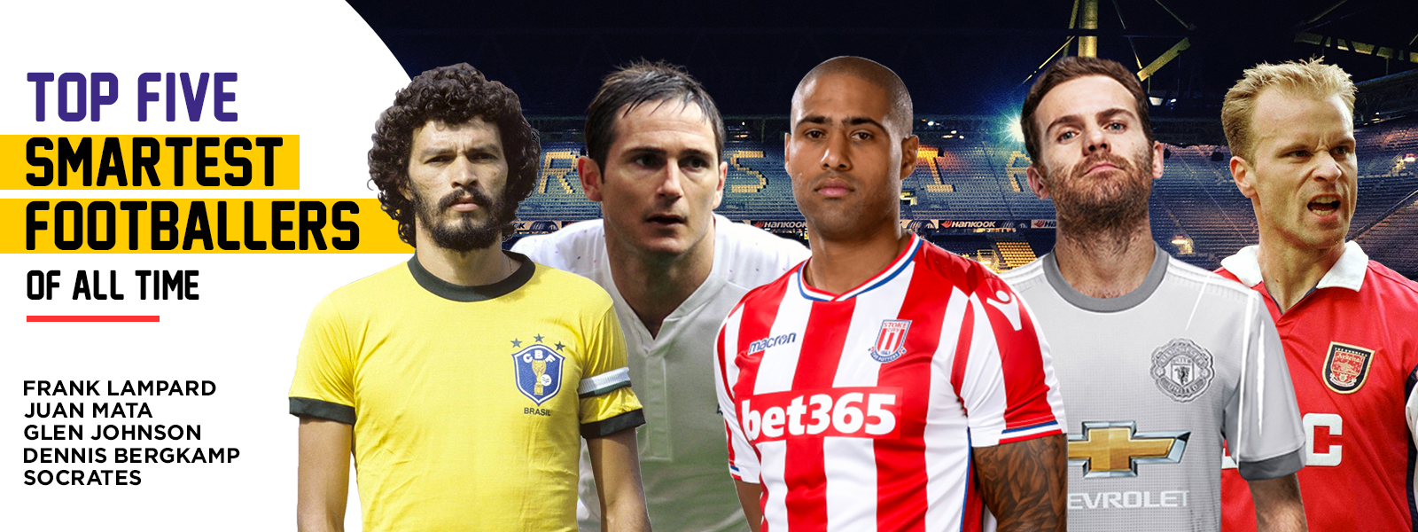 World Top Five Smartest Footballers Of All Time
