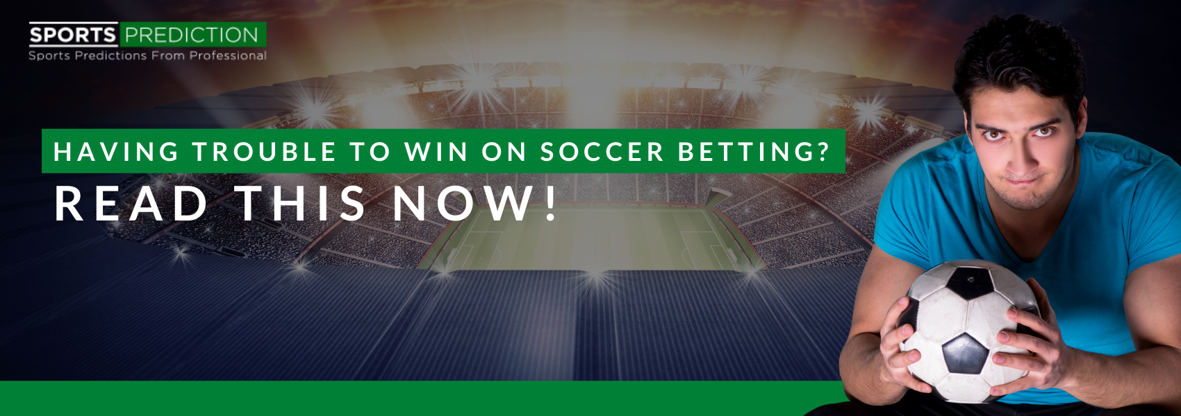 Having Trouble To Win On Soccer Betting? Read This Now!