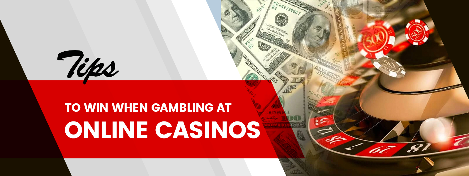 Tips To Win When Gambling At Online Casinos