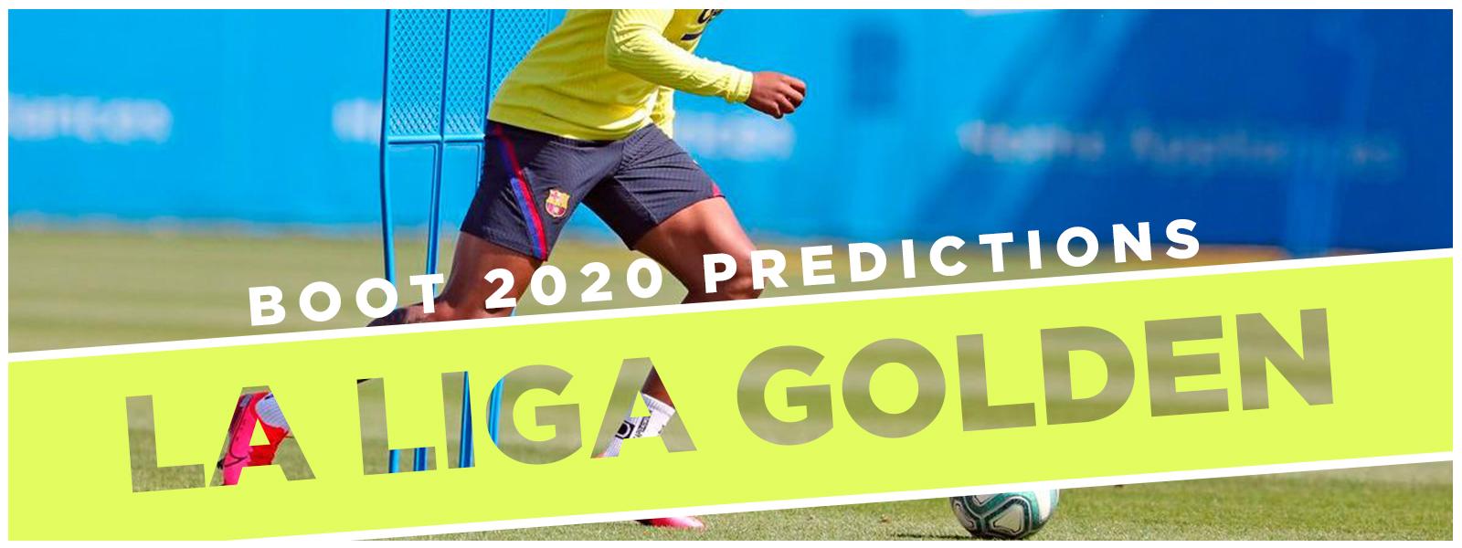 La Liga Golden Boot 2020 Predictions