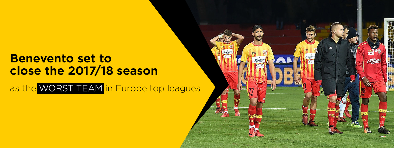 Benevento Calcio The Worst Team In Europe Top Leagues