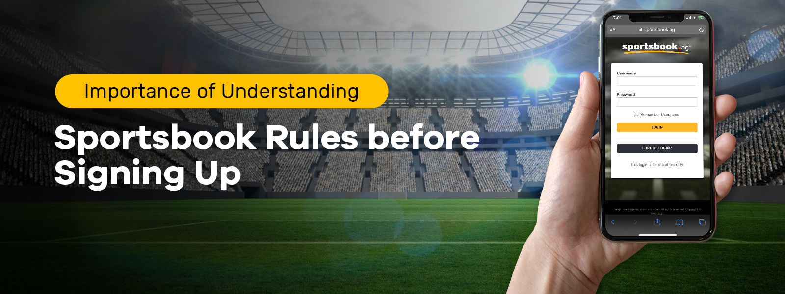 Importance Of Understanding Sportsbook Rules Before Signing Up